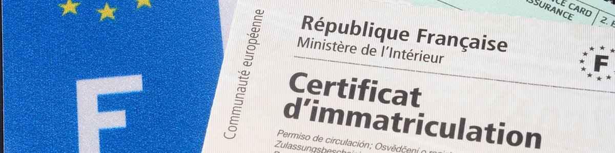 Service de demande de certificat de conformité Ford